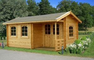 Genial Ein Holzhaus ...