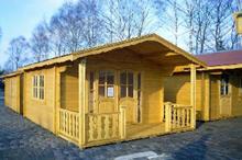Holzhütte für den Garten